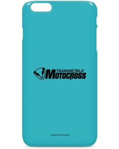 TransWorld Motocross Teal Logo iPhone 6/6s Plus Lite Case