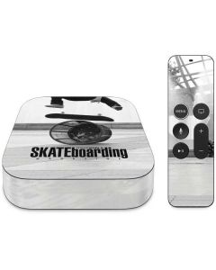 TransWorld SKATEboarding Black and White Apple TV Skin