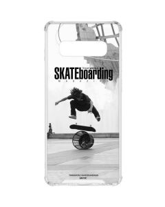 TransWorld SKATEboarding Black and White Galaxy S10 Clear Case