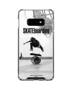 TransWorld SKATEboarding Black and White Galaxy S10e Clear Case