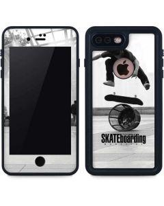 TransWorld SKATEboarding Black and White iPhone 8 Plus Waterproof Case
