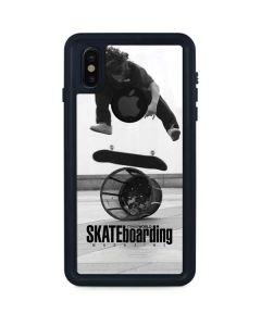 TransWorld SKATEboarding Black and White iPhone X Waterproof Case