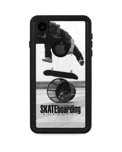 TransWorld SKATEboarding Black and White iPhone XR Waterproof Case