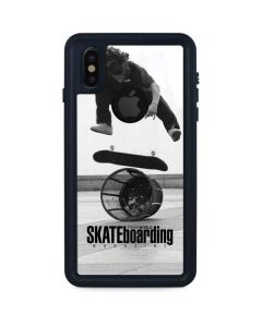 TransWorld SKATEboarding Black and White iPhone XS Waterproof Case