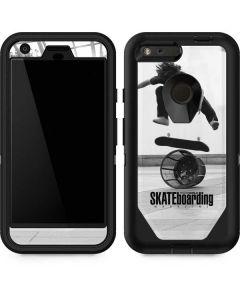 TransWorld SKATEboarding Black and White Otterbox Defender Pixel Skin