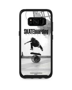 TransWorld SKATEboarding Black and White Otterbox Symmetry Galaxy Skin