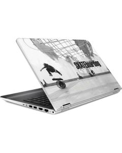 TransWorld SKATEboarding Black and White HP Pavilion Skin