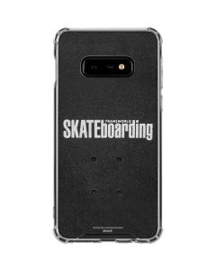 TransWorld SKATEboarding Galaxy S10e Clear Case