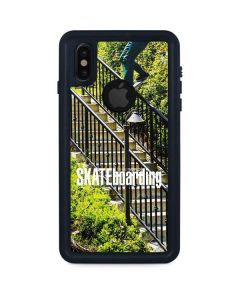 TransWorld SKATEboarding Grind iPhone X Waterproof Case