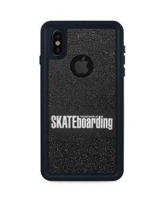 TransWorld SKATEboarding iPhone XS Waterproof Case