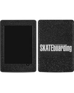 TransWorld SKATEboarding Amazon Kindle Skin