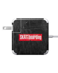 TransWorld SKATEboarding Magazine Chalkboard Apple Charger Skin
