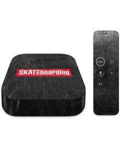 TransWorld SKATEboarding Magazine Chalkboard Apple TV Skin