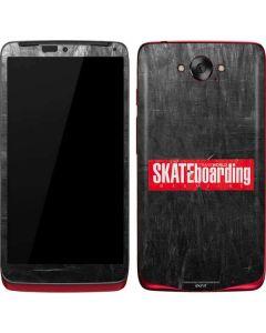 TransWorld SKATEboarding Magazine Chalkboard Motorola Droid Skin