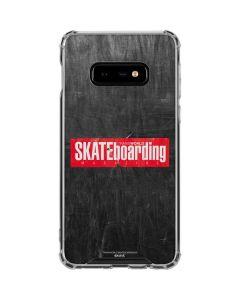 TransWorld SKATEboarding Magazine Chalkboard Galaxy S10e Clear Case