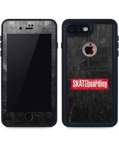 TransWorld SKATEboarding Magazine Chalkboard iPhone 8 Plus Waterproof Case
