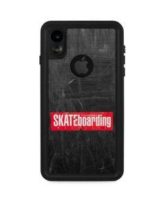 TransWorld SKATEboarding Magazine Chalkboard iPhone XR Waterproof Case