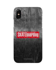 TransWorld SKATEboarding Magazine Chalkboard iPhone XS Lite Case