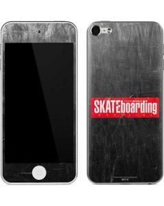 TransWorld SKATEboarding Magazine Chalkboard Apple iPod Skin