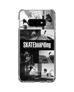 TransWorld SKATEboarding Magazine Galaxy S10e Clear Case
