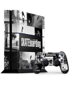TransWorld SKATEboarding Magazine PS4 Console and Controller Bundle Skin