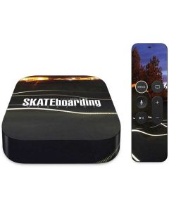 TransWorld SKATEboarding Skate Park Lights Apple TV Skin