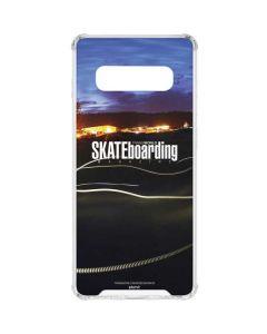 TransWorld SKATEboarding Skate Park Lights Galaxy S10 Clear Case