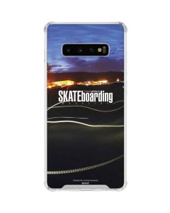 TransWorld SKATEboarding Skate Park Lights Galaxy S10 Plus Clear Case
