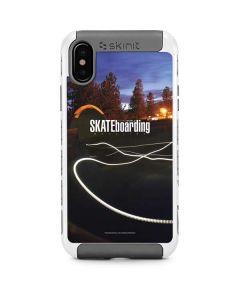 TransWorld SKATEboarding Skate Park Lights iPhone X/XS Cargo Case