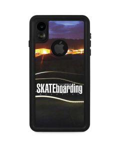 TransWorld SKATEboarding Skate Park Lights iPhone XR Waterproof Case