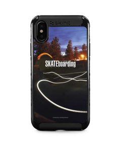 TransWorld SKATEboarding Skate Park Lights iPhone XS Max Cargo Case