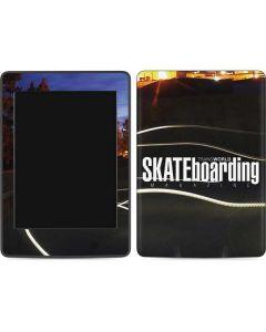 TransWorld SKATEboarding Skate Park Lights Amazon Kindle Skin