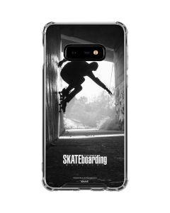 TransWorld SKATEboarding Wall Ride Galaxy S10e Clear Case