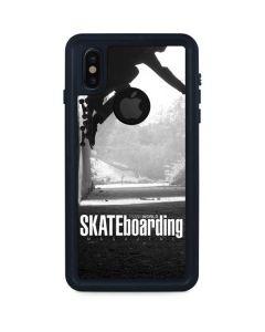 TransWorld SKATEboarding Wall Ride iPhone XS Waterproof Case