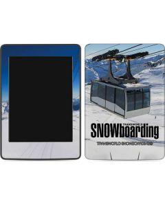 TransWorld SNOWboarding Lift Amazon Kindle Skin