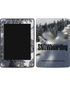 TransWorld SNOWboarding Peaking Amazon Kindle Skin