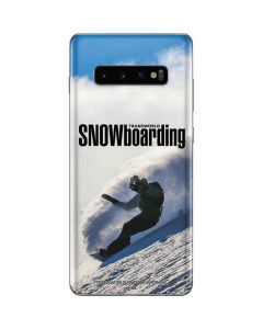 TransWorld SNOWboarding Rider Galaxy S10 Plus Skin