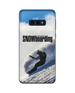 TransWorld SNOWboarding Rider Galaxy S10e Skin