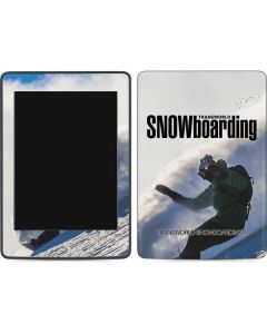 TransWorld SNOWboarding Rider Amazon Kindle Skin