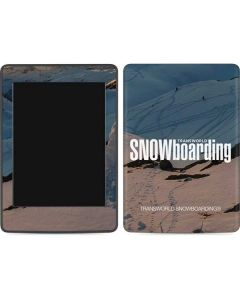 TransWorld SNOWboarding Shadows Amazon Kindle Skin