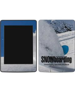TransWorld SNOWboarding Shred Amazon Kindle Skin