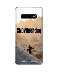 TransWorld SNOWboarding Sunset Galaxy S10 Plus Skin
