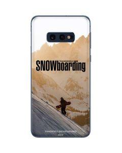 TransWorld SNOWboarding Sunset Galaxy S10e Skin