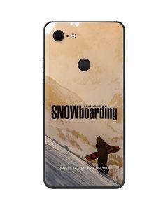 TransWorld SNOWboarding Sunset Google Pixel 3 XL Skin