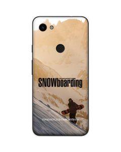 TransWorld SNOWboarding Sunset Google Pixel 3a Skin