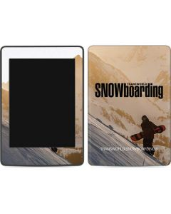 TransWorld SNOWboarding Sunset Amazon Kindle Skin