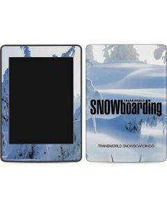 TransWorld SNOWboarding Trees Amazon Kindle Skin