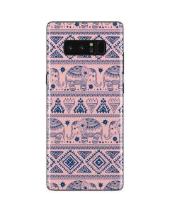 Tribal Elephant Pink Galaxy Note 8 Skin