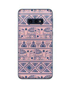 Tribal Elephant Pink Galaxy S10e Skin