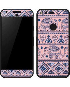 Tribal Elephant Pink Google Pixel Skin